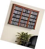 Multimedia Storage Rack Media Wall Cabinet Blu-Ray CD DVD