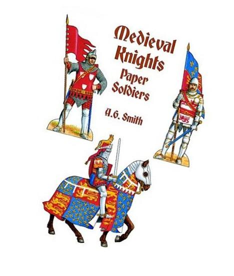 Medieval Knights Paper Soldiers