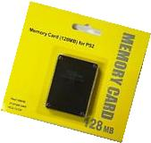 128MB Megabyte Memory Card Data For Sony PlayStation 2 PS2