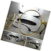 Mens Women CLASSIC VINTAGE Style Clear Lens EYE GLASSES