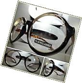 Mens Women VINTAGE RETRO Style Clear Lens EYE GLASSES Round