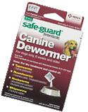MERCK SAFEGUARD DEWORMER LARGE DOG WORMER WORM 6 WEEK OLD + FREE SHIP IN THE USA