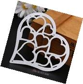 Metal Heart DIY Cutting Dies Stencil Scrapbook Album Paper