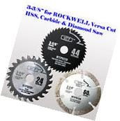 3x 4-1/2 inch Metal Wood Tile Saw Blade for ROCKWELL RK3441K