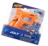 NERF Micro JOLT ORANGE Pistol N-Strike Elite Series mini