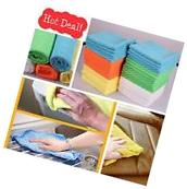 50-Pack Microfiber Cleaning Cloth Towel Car Rag Polishing