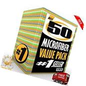 Microfiber Cleaning Cloth Set of 48 Towel Rag Car Polishing