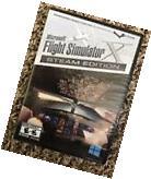 MICROSOFT FLIGHT SIMULATOR X STEAM EDITION, FACTORY SEALED,