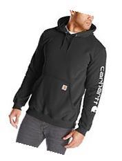 Carhartt Men's  Midweight Signature Sleeve Logo Sweatshirt