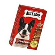 Milk Gravy Bones Dog Biscuits 19 OZ