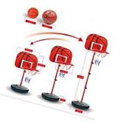 Kid Mini Basketball Stand Back Board & Hoop w/ Ball & Pump