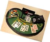 New in box ! Mini Black Jack Table Game Set Table Top Games