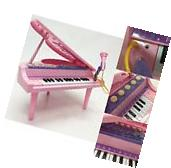 Kids Musical Instruments Mini Piano Microphone Electronic