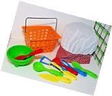 Children Child Kids Mini Plastic Kitchen Utensil Chef's Hat