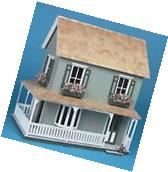 Miniature Dollhouse Kit Wooden 1:12 Inch Scale Doll House