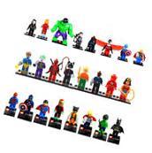 MiniFigures Toy Lego Super Heroes Series Wolverine Superman
