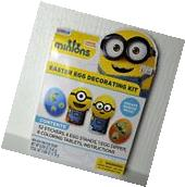 Minions Egg Decorating Kit New/Sealed Easter Egg Color Kit