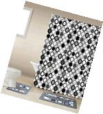 Mitosis Black & White 15-Piece Bathroom Accessory Set 2 Bath