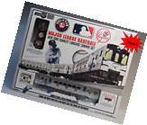 LIONEL MLB NY YANKEES LIONCHIEF RTR SUBWAY SET subway o
