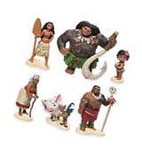 Moana Maui Hei Hei Playset 6 Figure Cake Topper *FAST
