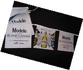 Modelo Blank Canvas Puma flag string beer banner sign