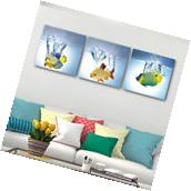 Modern Abstract Art Print Canvas Home Office Decor Wall Art-