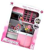 Modern Kitchen 15' Battery Operated Toy Kitchen Playset, 11-
