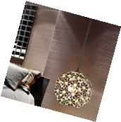 Modern Chic Metal Ceiling Light Lighting Crystal Pendant