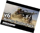 BrickArms Modern Combat Pack V6 Guns & Accessories for LEGO