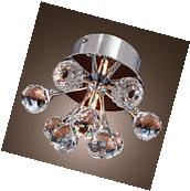 Modern LED Crystal Ceiling Light Hallway Aisle Pendant