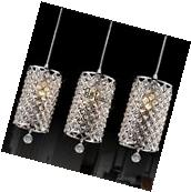 Modern Crystal Ceiling Lights Pendant Lamp Chandelier