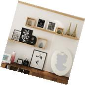 Set Of 6 Modern Floating Wall Mounted Shelves Display