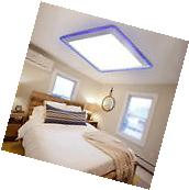Modern Flush Mount LED Pendant Light Ceiling Lamp Bedroom