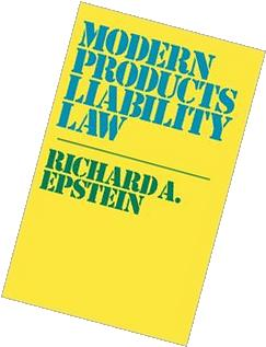 Modern Products Liability Law
