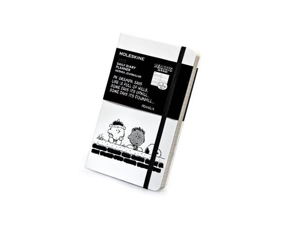 Moleskine Peanuts Daily Planner, Large, White