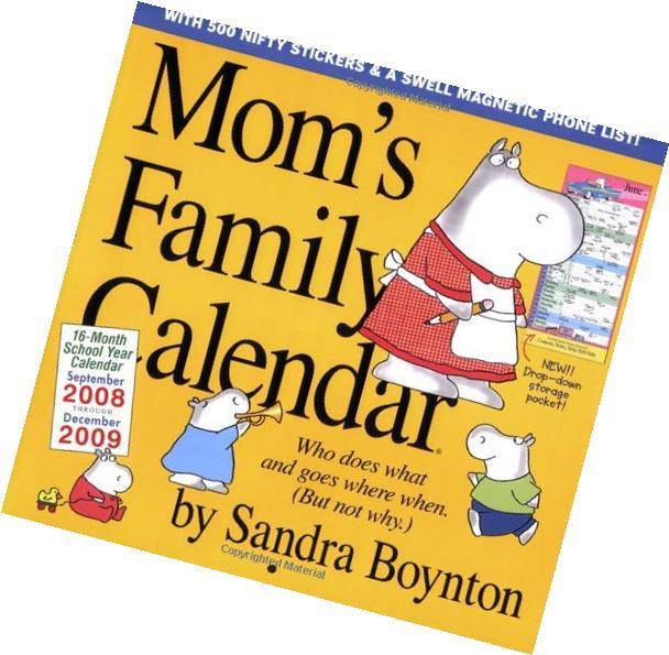 Mom's Family Calendar 2009