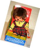 "Monchhichi Summer Dress Boy Monchichi Sekiguchi 20cm 8"" Kiki"
