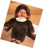 "MONCHHICHI BOY Original Sekiguchi 7.5"" YELLOW Bib plush"