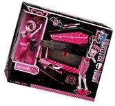 Monster High DEAD TIRED Draculaura Doll + JEWELRY BOX Coffin
