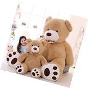 MorisMos Huge Big Teddy Bear With Foorprints Soft Toy
