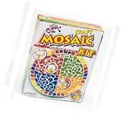 Mandala Art MOSAIC ROUND PLATE CRAFT KIT For Adults & Older