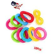 Mosquito Insect Repellent Bracelets 10pcs 250Hrs of