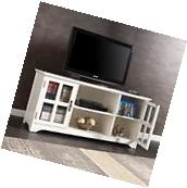 SEI MS9908 Remington Tv/Media Stand - White New