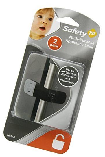 Safety 1st Multi-Purpose Appliance Lock Decor, 2-Count New