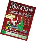 Munchkin: Christmas Lite Adventure Card Game by Steve