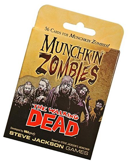 Munchkin Zombies: The Walking Dead Card Game Expansion