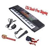 54 Keys Music Electronic Keyboard Kid Electric Piano Organ W