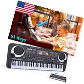 61 Keys Digital Music Electronic Keyboard Key Board Electric