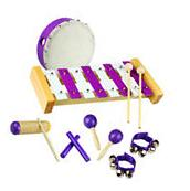 New Musical Instrument Percussion Drum Maracas Set for Kids Educational Toy Gift