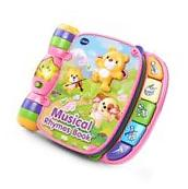 Musical Rhymes Book - Pink - Online Exclusive VTech